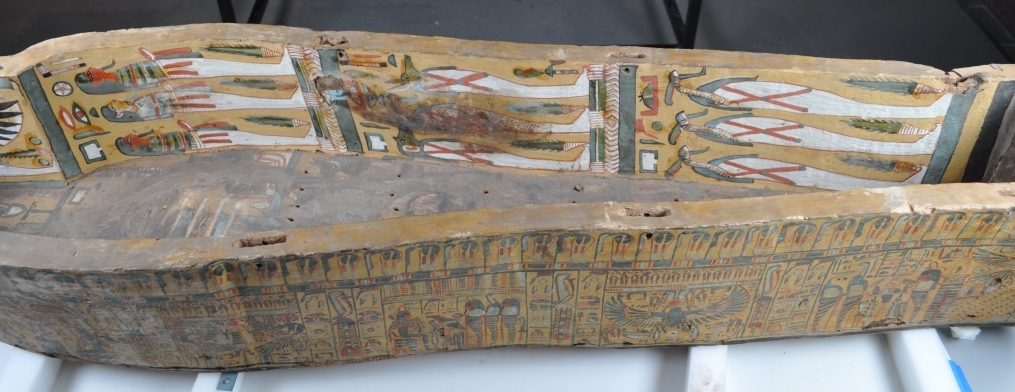 coffin left side