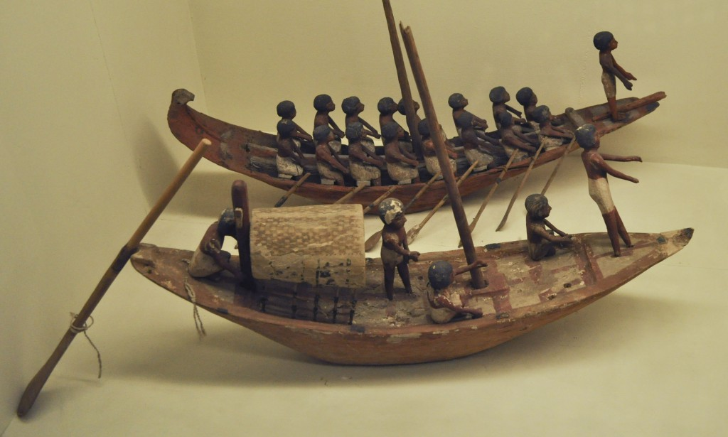 Detail of E14260.1, boat model, before deinstallation.