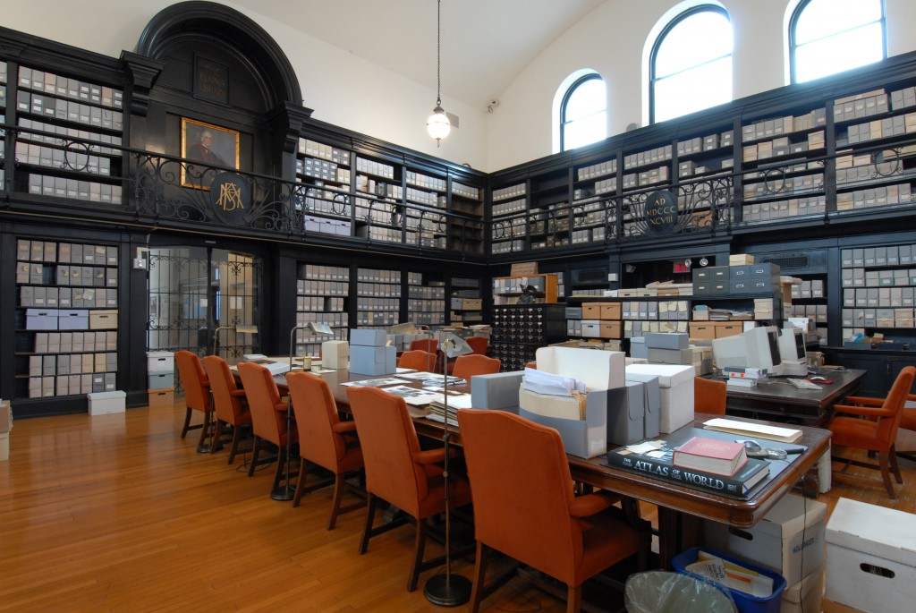 Photograph of the Penn Museum Archives