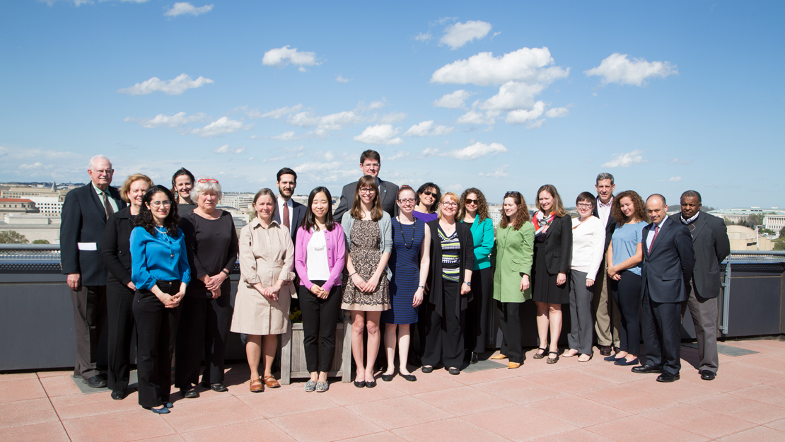 A group portrait of the CCRN