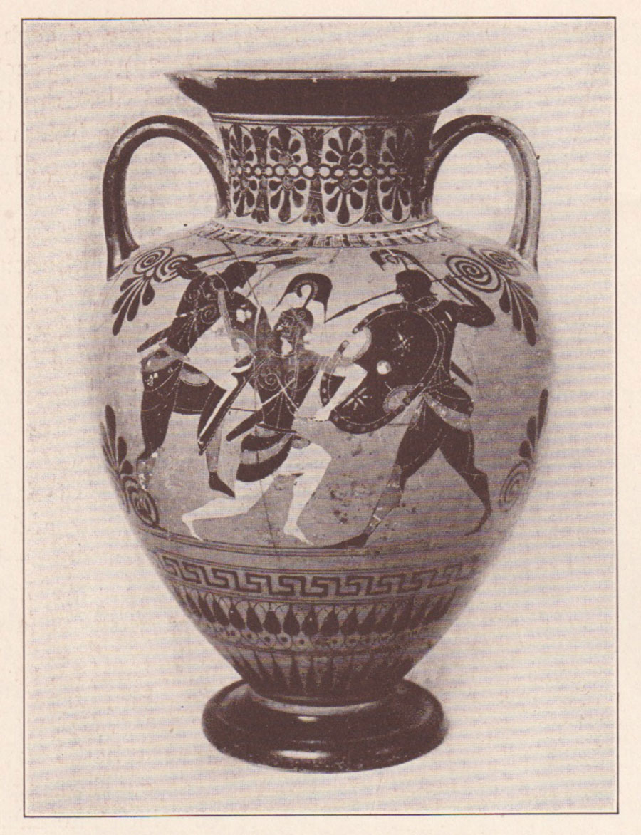 Expedition magazine stories on greek vases attic blackfigured amphora mdash two greeks and amazon reviewsmspy