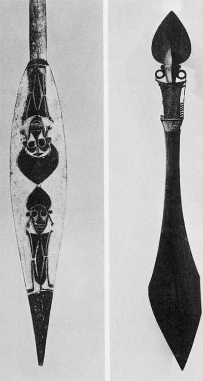 image of paddles