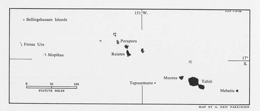 map of islands