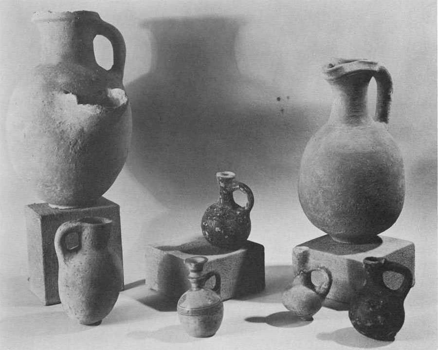 Well-known pottery of the types used by the Israelites at Beth Shean.