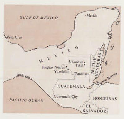Mexico, guatamala, honduras