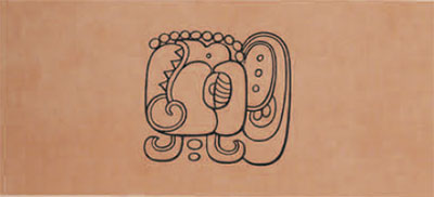 drawing of glyph