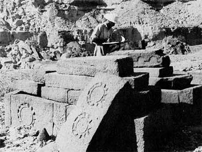 photo of tombs