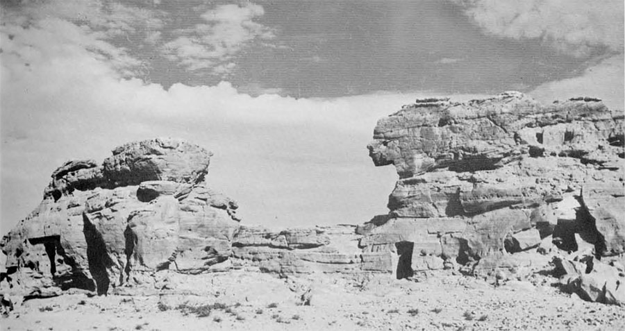 photo of the rock formation.
