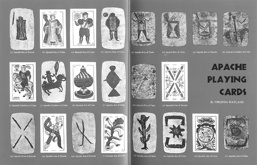 Expedition Magazine Apache Playing Cards