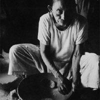 Photo of woman making pottery