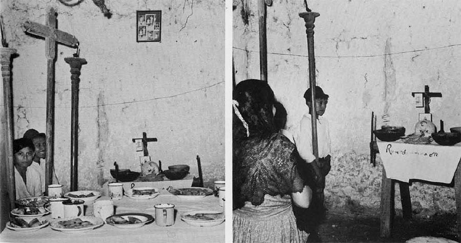 Photos of home altar