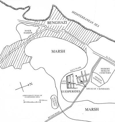 Plan of Euesperides