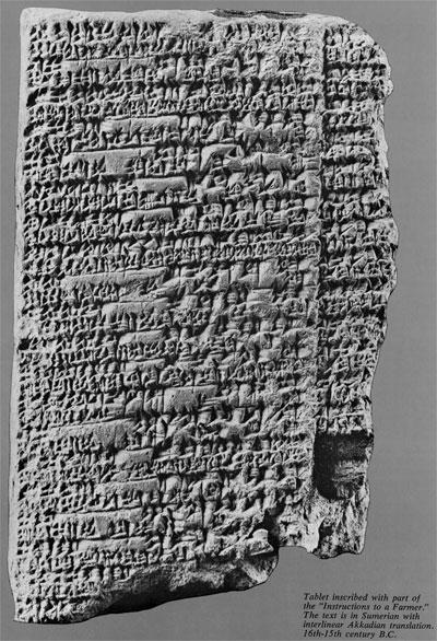 Sumerian Harvest Time Expedition Magazine
