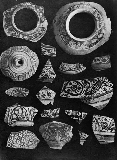 Early Islamic pottery from Bandhore