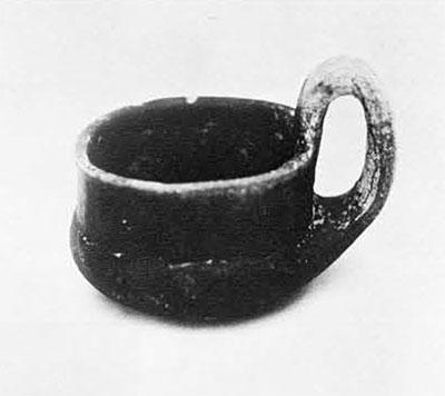 Iron Age cup. 1,00 B.C.