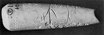 Photo of terracotta cone.