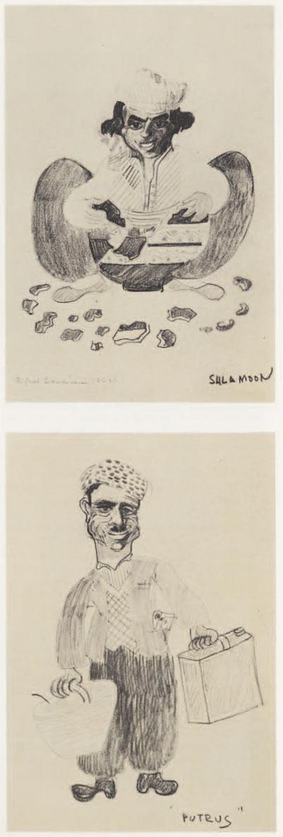 Bendiner Sketches