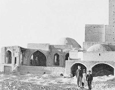 The Old Mosque at Turbat-i Shaikh Jam.