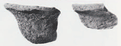 Prototypical beveled rim bowls from Tepe Yahya V (left) and Susa Level 25 (right).