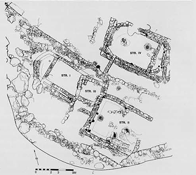 Plan of the site.