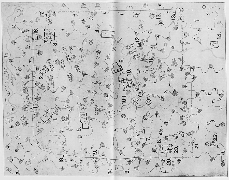 Map II. Wen-wu, No. 1, 1976, p. 31.