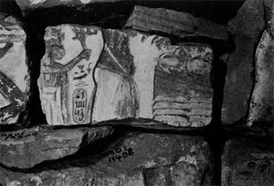 Stored talatat at Karnak