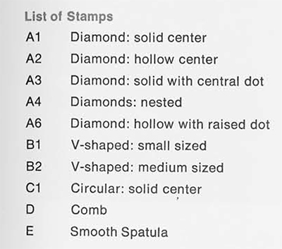 list-stamps-Piana-di-Curinga