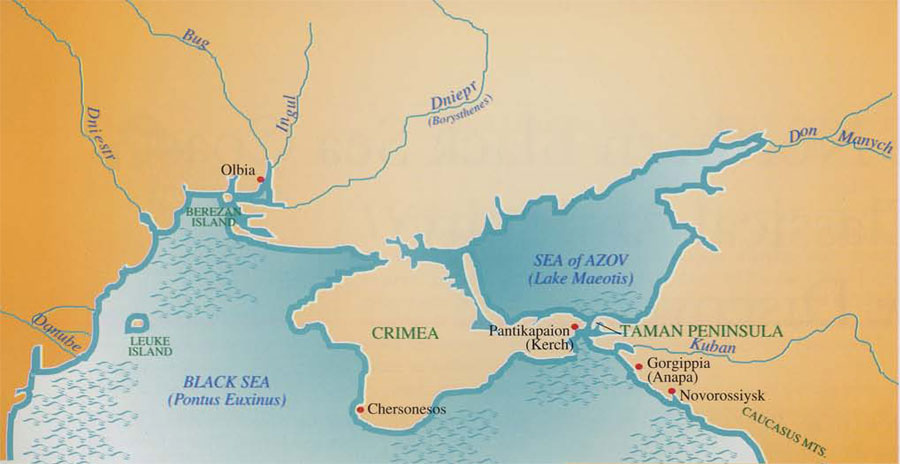 Expedition magazine the northern black sea coast in classical the northern black sea area from danube to the caucasus sciox Gallery