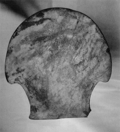 Fig10. Axe-ingots, such as this one from Peru in West Bengal, are unsuited to use as axes. (Indian Museum, Calcutta)