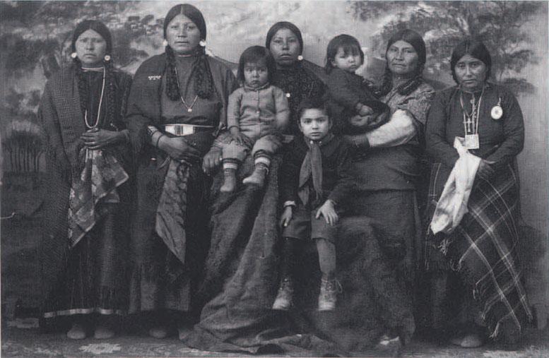 Flathead Salish Women And Children