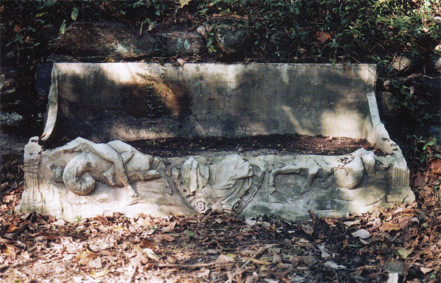The sarcophagus after further tidying up, fall 2003