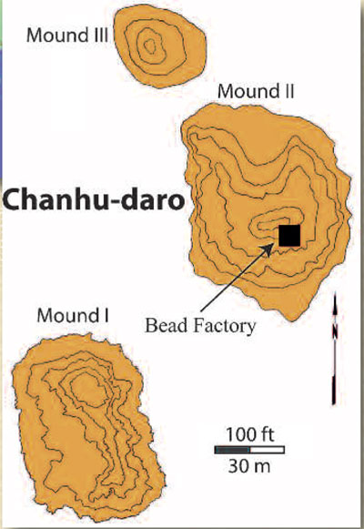 Plan of Chanhu-daro.