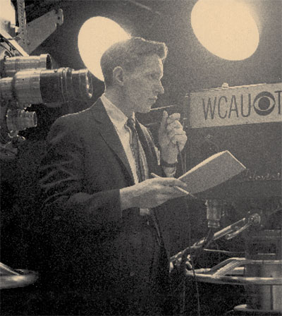 George B. Dessart was the last producer of the show, ca. 1960. UPM  Image #140910.