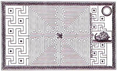King-Minos'-Labyrinth