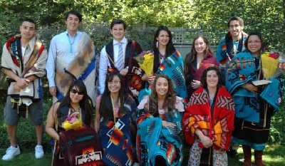 The special Indian graduation ceremony at the University of Colorado, Boulder was co-sponsored by NARF.