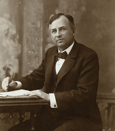 John Wanamaker. Photo courtesy Historical Society of Pennsylvania.