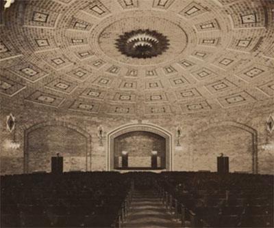 The Harrison Auditorium. UPM image # 174869.