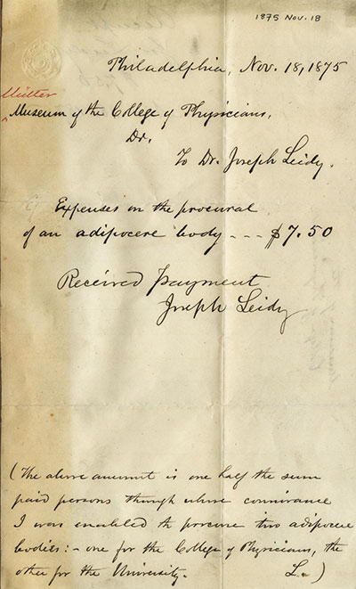 Photo of letter
