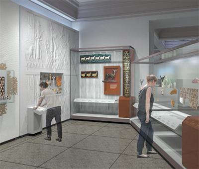 rendering of gallery