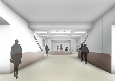 rendering of entrance