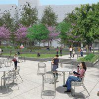 rendering of outdoor space