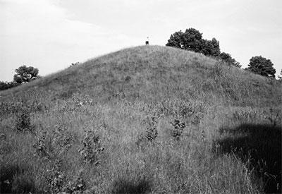 PHoto of mound