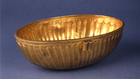 Fluted Gold Bowl from Ur