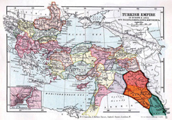 Map of the Ottoman Empire