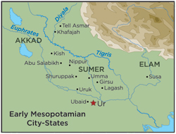 Early Mesopotamian City States