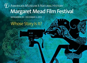 Logo for Margaret Mead Film Festival 2012