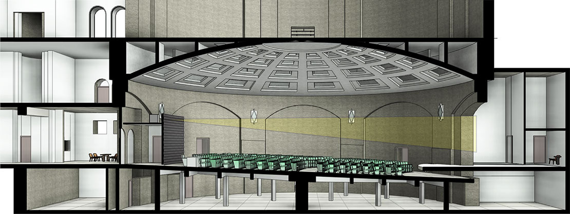 Harrison Auditorium Rendering